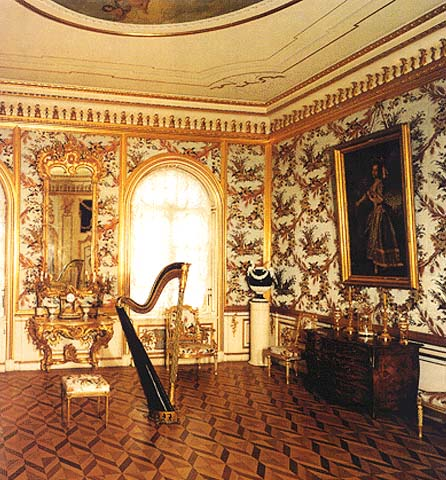 The Great Peterhof Palace The Partridge Reception Room