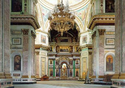 ST.ISAAC'S CATHEDRAL - Interior. Photo 2