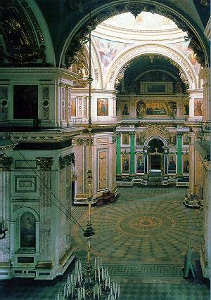 ST.ISAAC'S CATHEDRAL - Interior. Photo 3