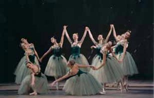 "Ballet ""Jewels"" by Balanchine"